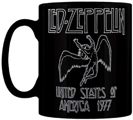 Led Zeppelin United States Of America 1977 Mug